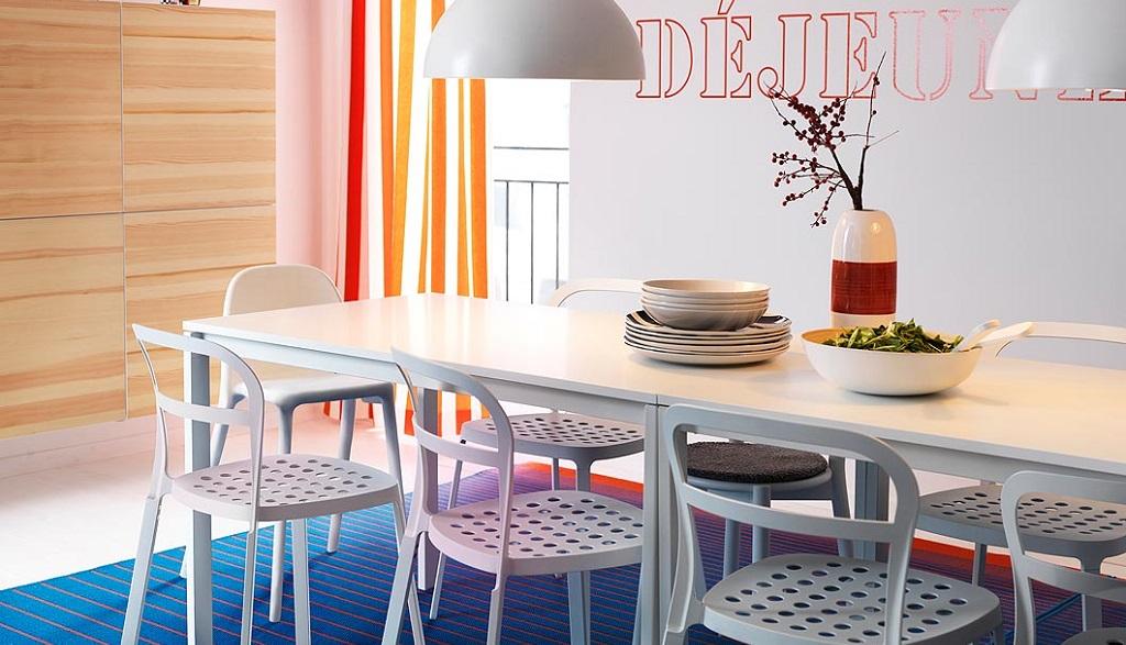 Mesas ikea 2014 revista muebles mobiliario de dise o - Mesa transparente ikea ...