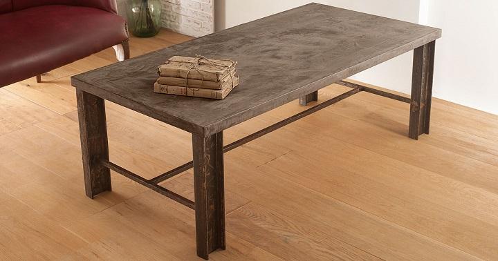 Mesas de microcemento – Revista Muebles – Mobiliario de diseño