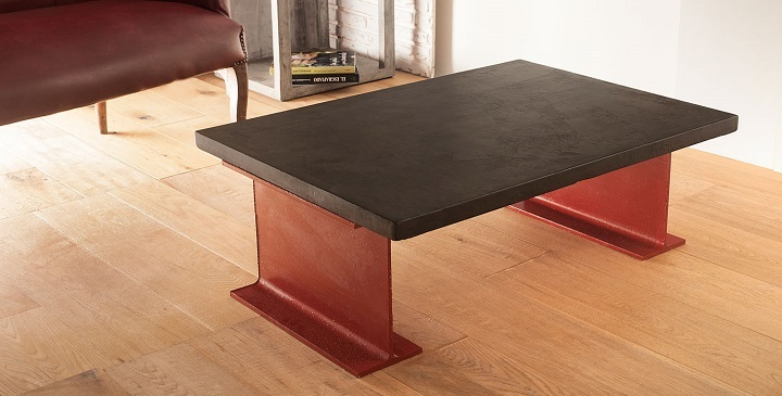 Mesas de microcemento revista muebles mobiliario de dise o for Muebles microcemento