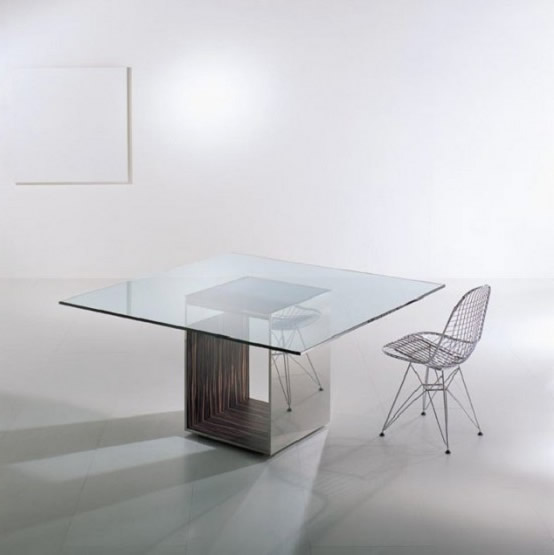 Revista muebles mobiliario de dise o - Mesas comedor originales ...