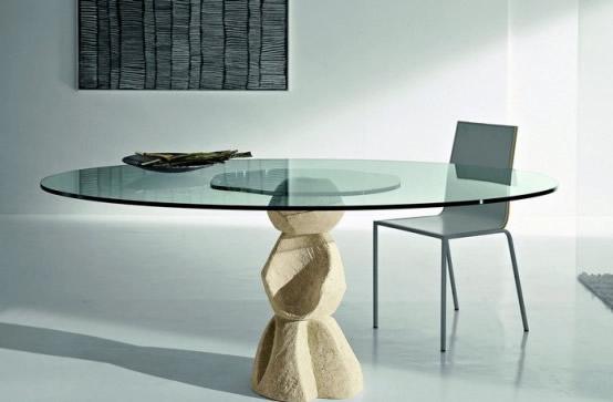 Mesas de comedor originales18 revista muebles - Mesas comedor originales ...