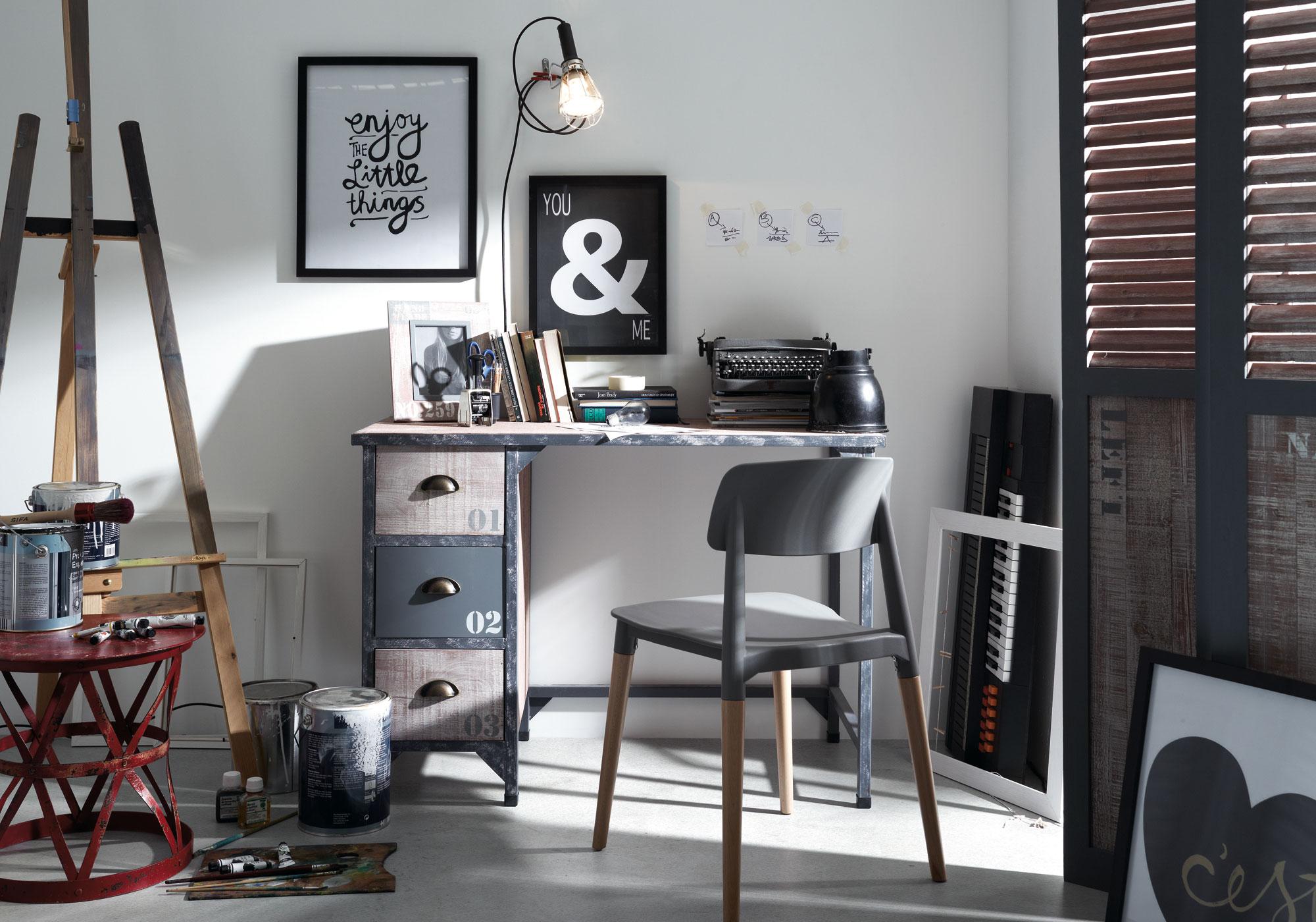 Muebles de estilo industrial vintage35 revista muebles for Muebles diseno industrial vintage