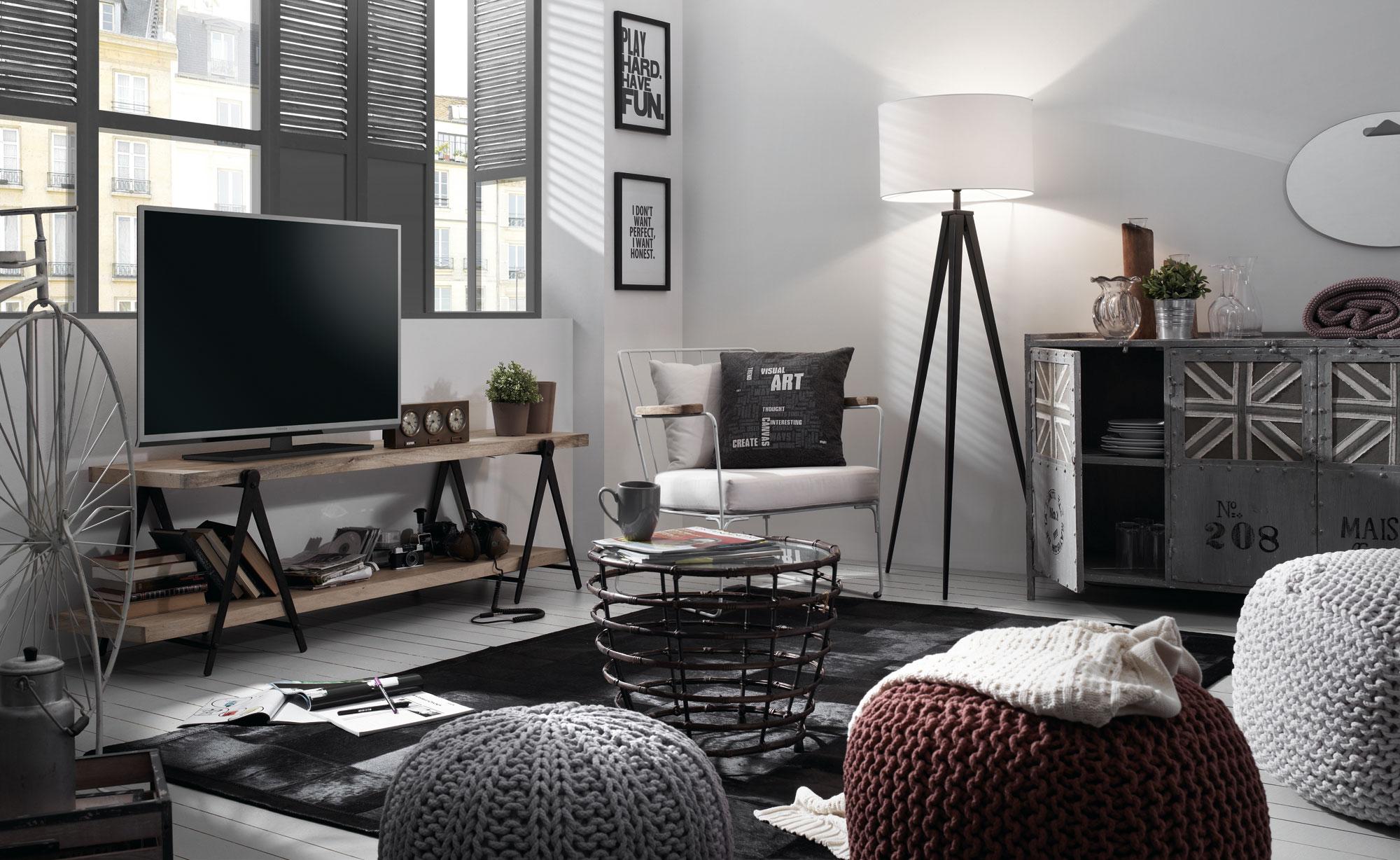 Revista muebles mobiliario de dise o for Habitacion decoracion industrial