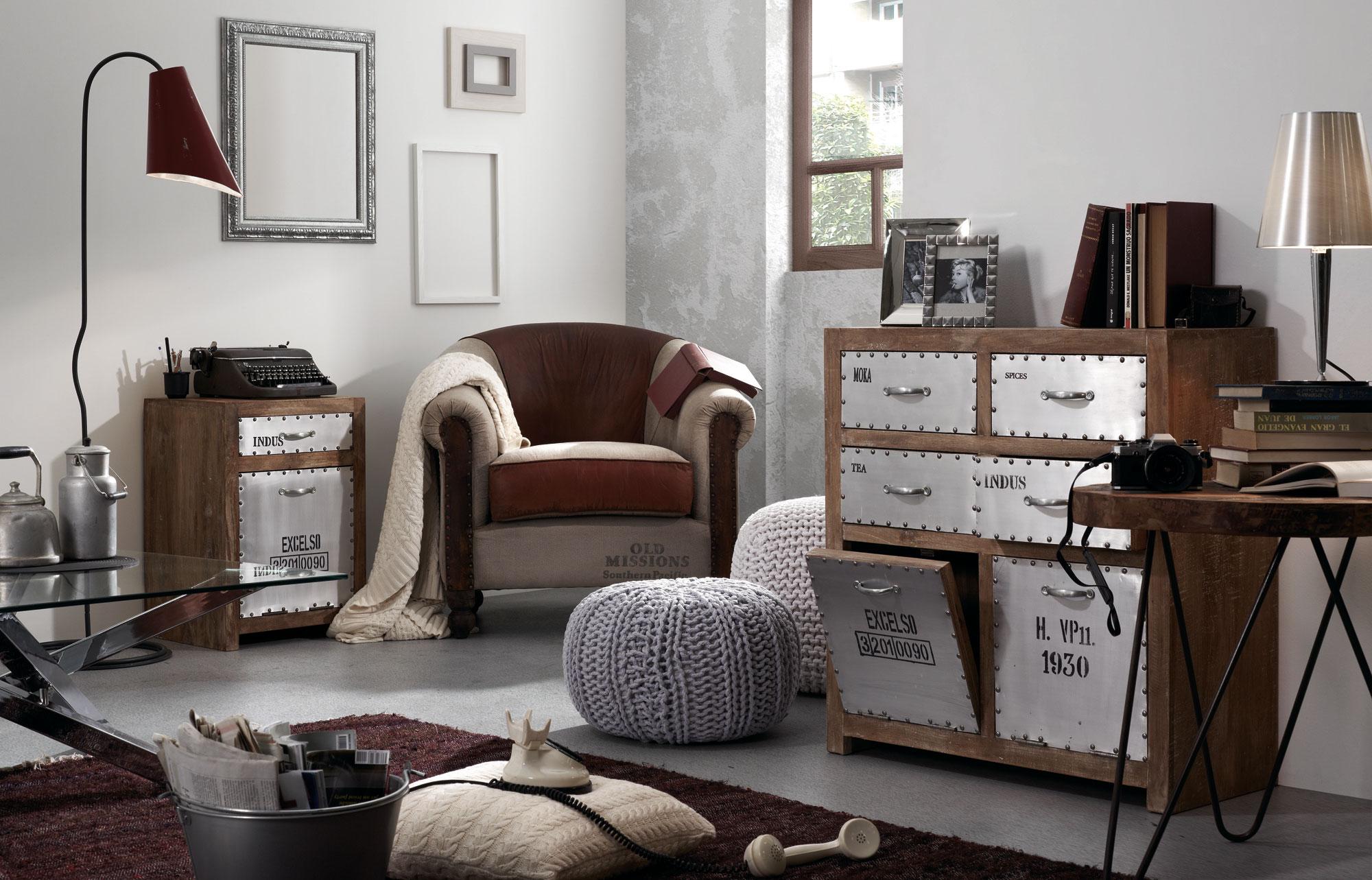 Muebles de estilo industrial vintage49 - Muebles estilo vintage ...
