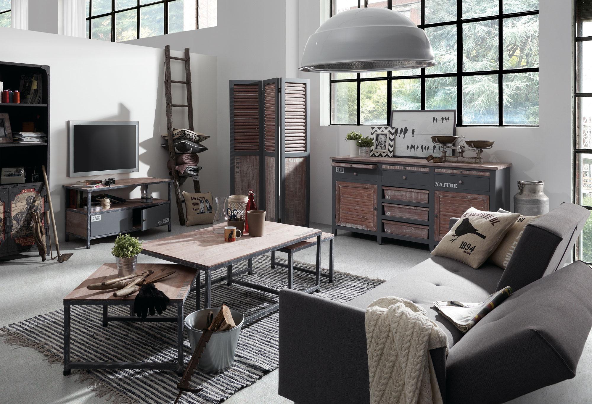 Muebles de estilo industrial vintage51 revista muebles - Muebles de estilo industrial ...
