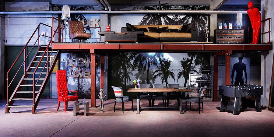 Muebles de estilo industrial vintage54 revista muebles - Mobiliario industrial vintage ...