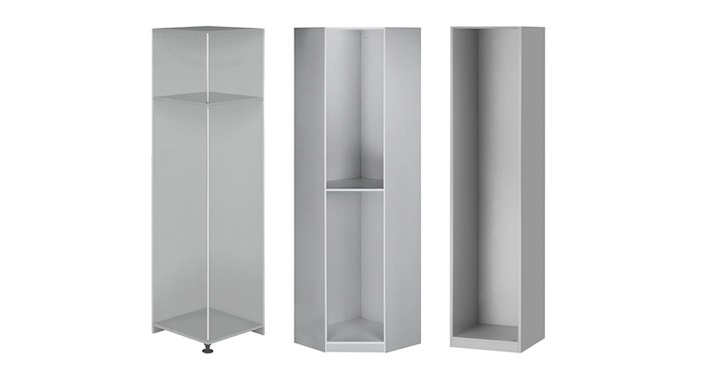 modulos de interior aluminio