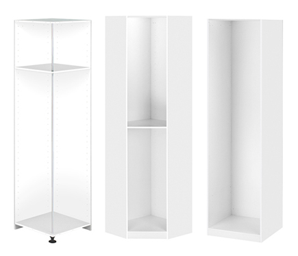 Modulos de interior blanco revista muebles mobiliario for Butacas leroy merlin