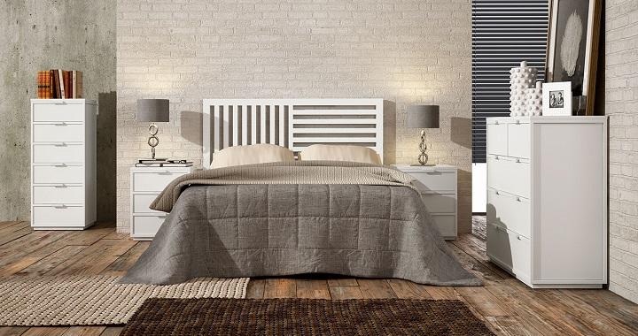 Muebles de dormitorio blancos revista muebles for Muebles blancos dormitorio