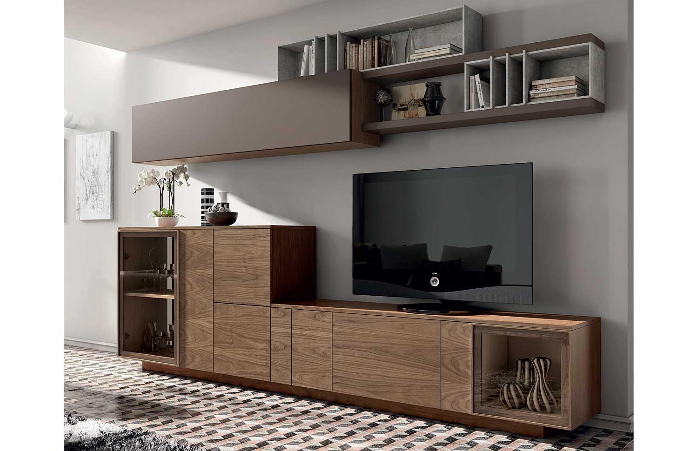 Muebles para el sal n de estilo n rdico for Muebles de salon completos