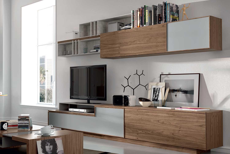 Muebles para el sal n de estilo n rdico for Muebles de salon nordicos