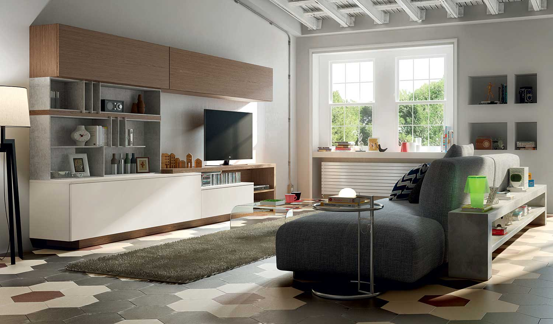 Muebles para el sal n de estilo n rdico - Salones estilo escandinavo ...