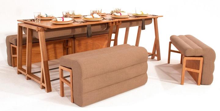 Revista muebles mobiliario de dise o for Mueble que se hace cama