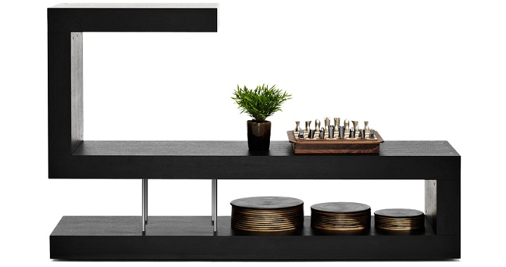 Separadores de ambientes funcionales revista muebles for Mueble separador de ambientes