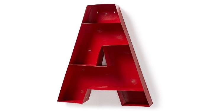 Estanteria en forma de A