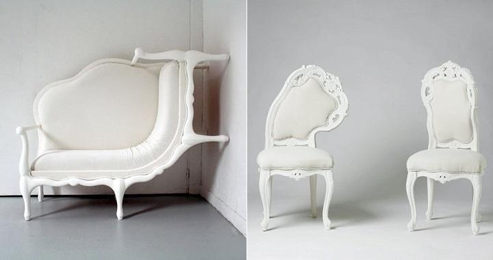 Muebles surrealistas