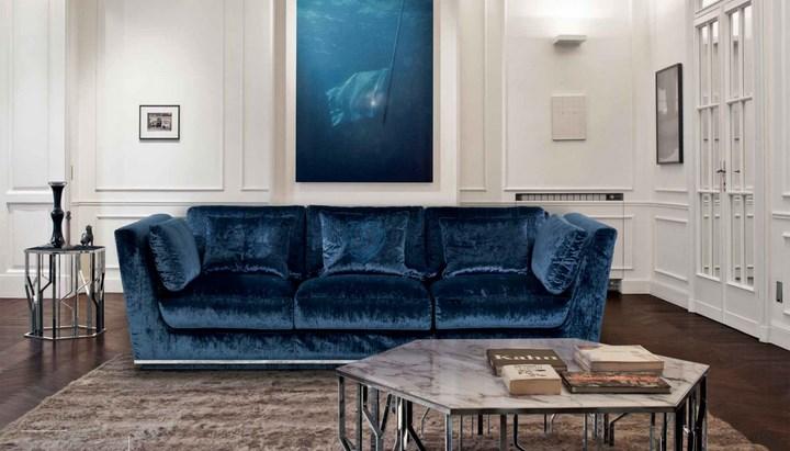 Sofa Banni Nobu Terciopelo