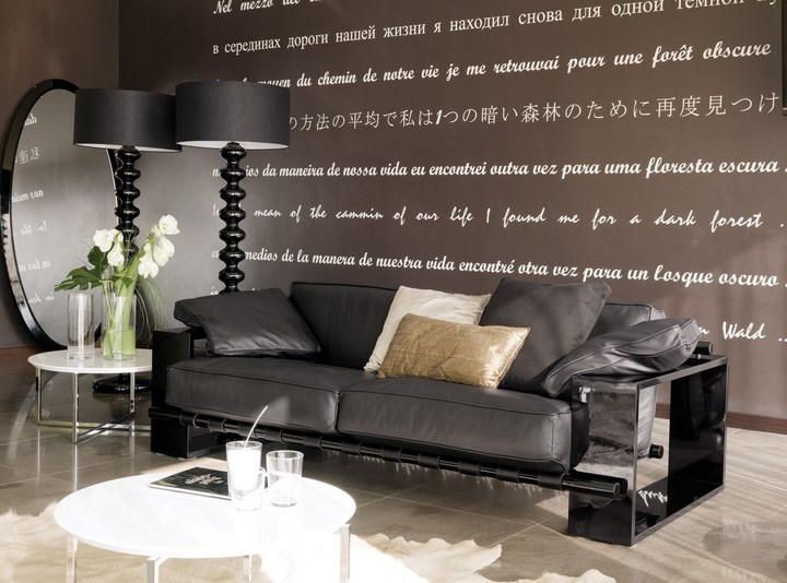 Sofa Banni Panama Negro