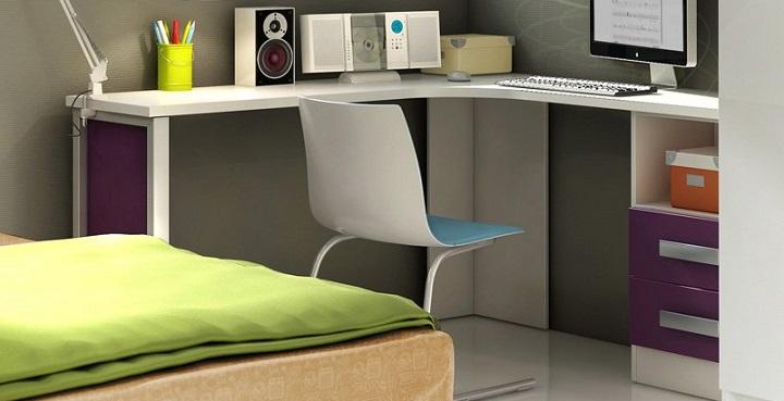 Revista muebles mobiliario de dise o - Muebles de escritorio juveniles ...