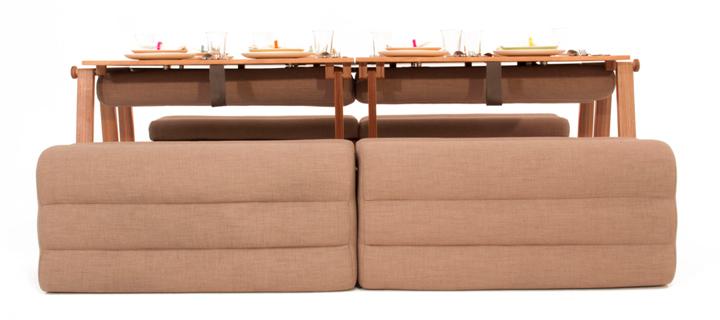 Un mueble transformable 4 en 1