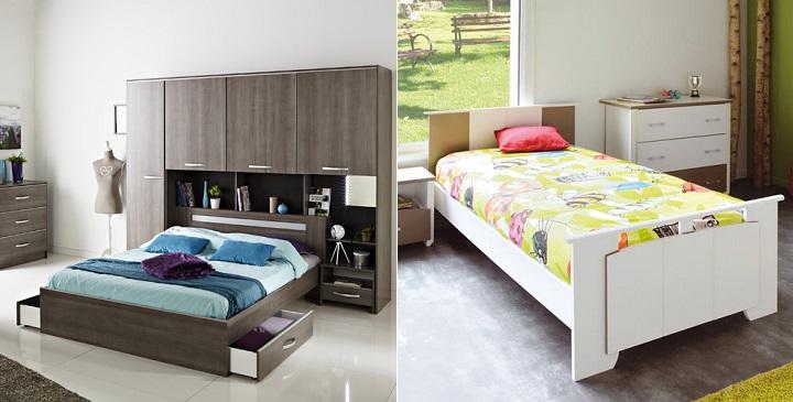 Camas buenas y baratas revista muebles mobiliario de - Camas con dosel baratas ...