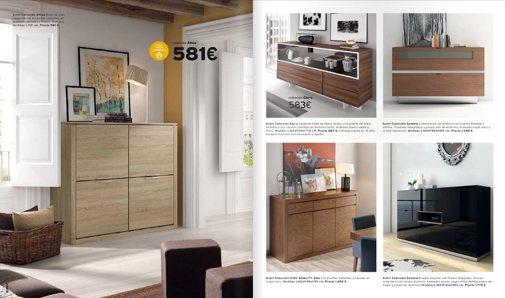 Catalogo muebles kibuc 201561 revista muebles for Muebles kibuc
