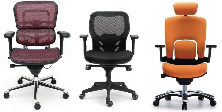 Sillas de oficina c modas revista muebles mobiliario for Sillas de oficina comodas
