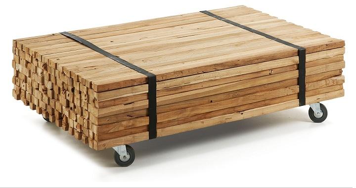 Revista muebles mobiliario de dise o - Tablones de madera leroy merlin ...