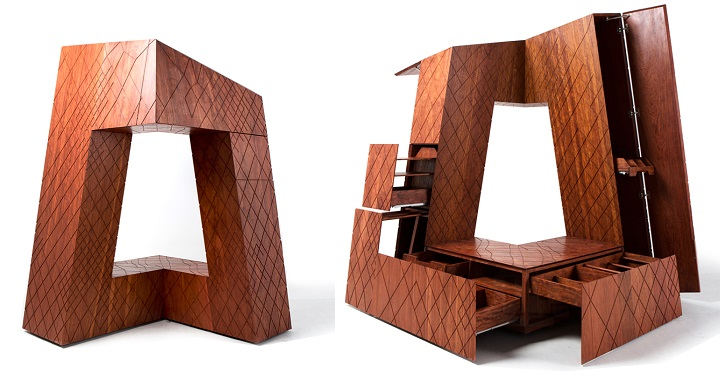 gabinete madera