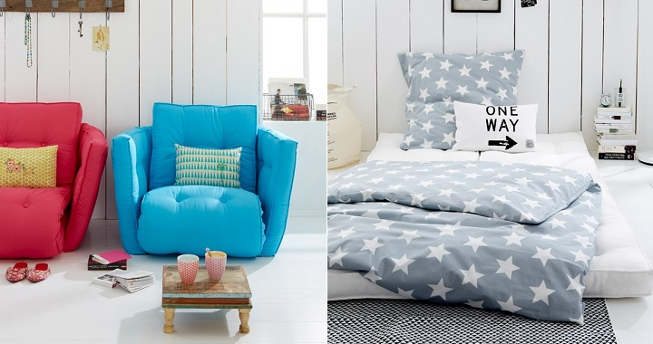 Moderno y pr ctico sill n cama revista muebles for Sillones cama modernos