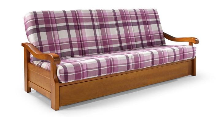 Sof s para una decoraci n r stica revista muebles for Cuanto sale un sofa cama