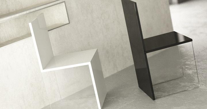 Sillas m gicas de estilo minimalista revista muebles - Sillas minimalistas ...