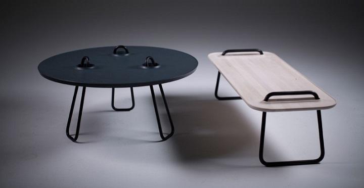 Revista muebles mobiliario de dise o - Mesitas de cafe ...