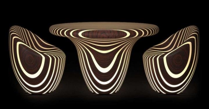 muebles brillantes
