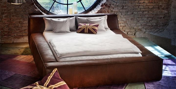 Muebles en cuero marron Portobello1