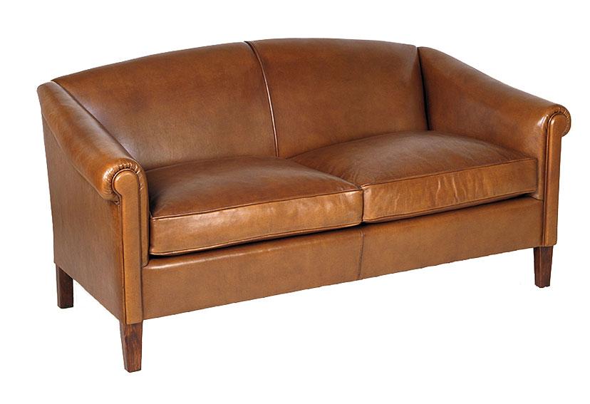 donde podrás descubrir la colección de muebles de cuero marrón de
