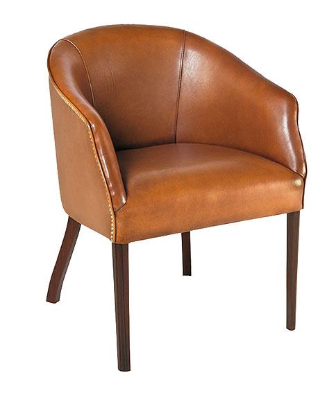 Muebles en cuero marron3 – Revista Muebles – Mobiliario de diseño