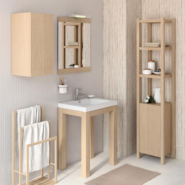 Stone lavabo encastrar revista muebles mobiliario de for Butacas leroy merlin