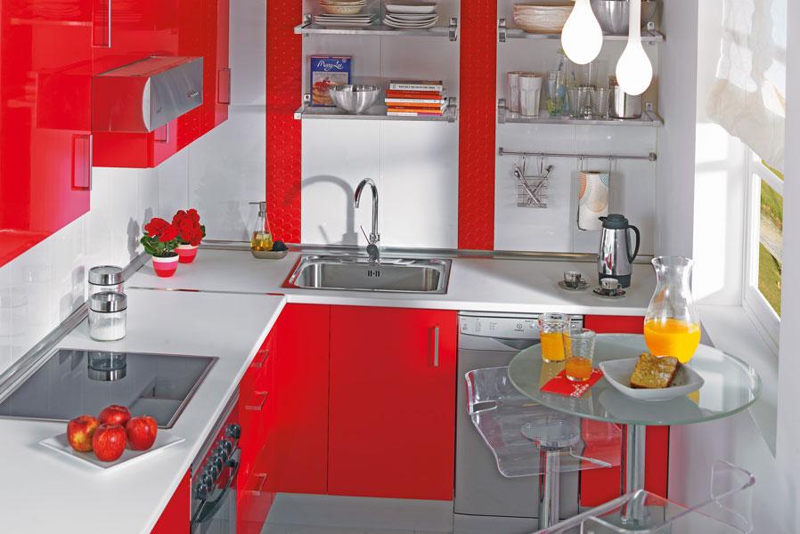 Revista muebles mobiliario de dise o for Sillas de cocina rojas