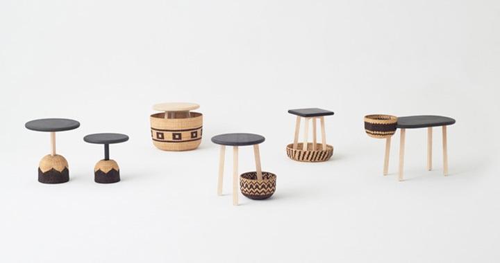 Nueva colecci n de muebles tribal de nendo revista - Trobal muebles ...