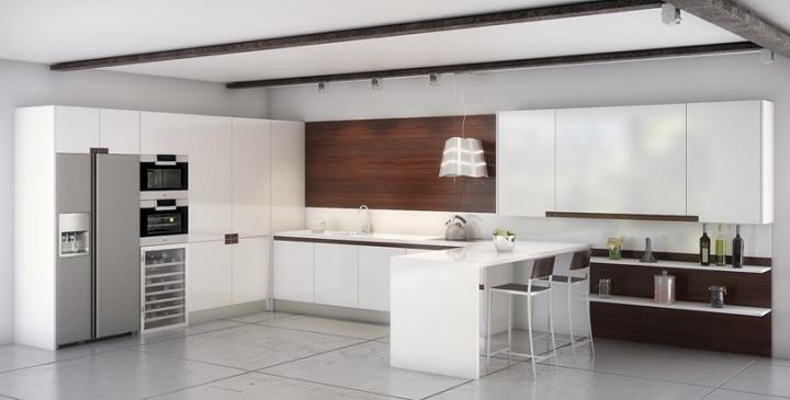 Revista muebles mobiliario de dise o for Cocinas 2016