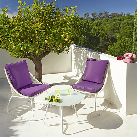 Conjuntos de muebles con mesa baja2 revista muebles - Mesa jardin leroy merlin ...