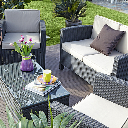 Muebles de jardín Leroy Merlin 2015