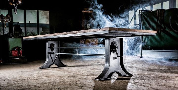 Muebles de madera maciza y hierro – Revista Muebles – Mobiliario