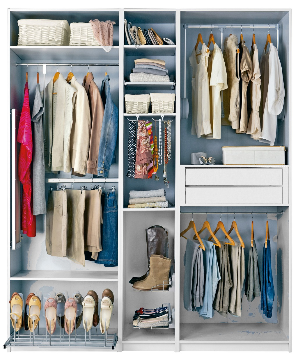 Leroy merlin colecci n de armarios 2015 for Armarios sin puertas leroy merlin