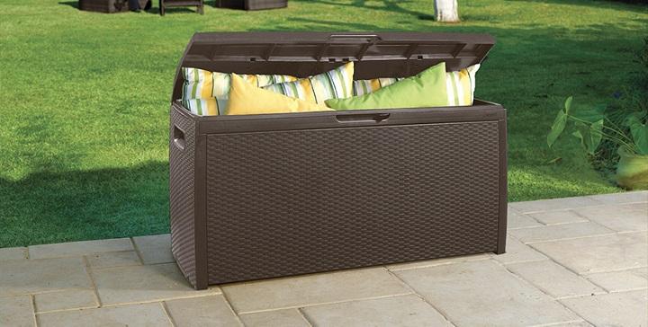 Muebles para la terraza revista muebles mobiliario de Conforama sillon mecedora