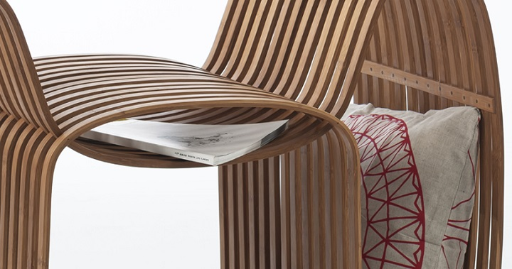 Bow Tie Chair bambu