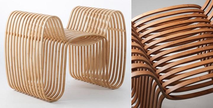 Bow Tie Chair bambu1