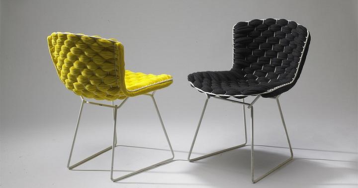Silla Bertoia Loom Chair