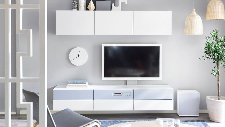 Soluciones multimedia de ikea 2015 - Ikea muebles salon tv ...